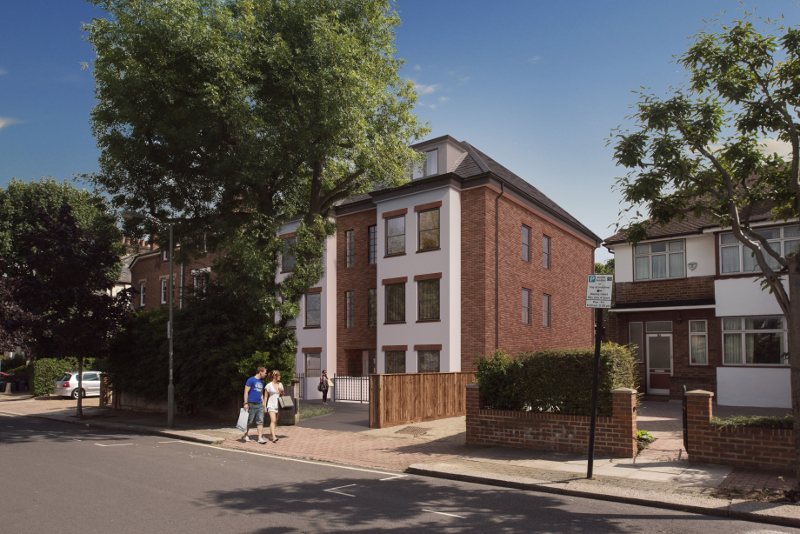 8 unit new build apartment development
